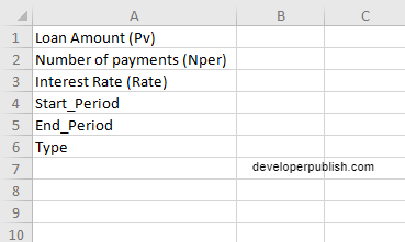 How to use the CUMIPMT function in Excel?