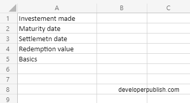 How to use the INTRATE function in Excel?