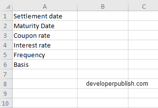 How to use MDURATION  function in Excel?