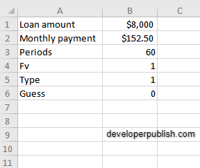 How to use the RATE function in Excel?
