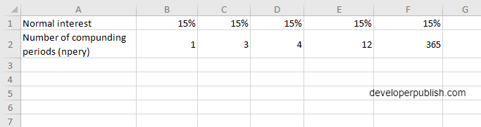 How to use EFFECT function in Excel?