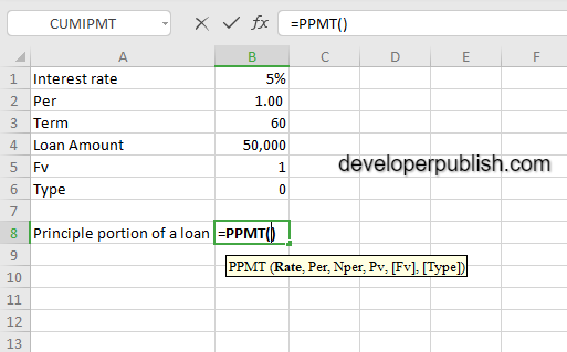 How to use the PMT function in Excel?