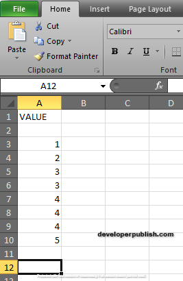 How to use MODE Function in Excel?