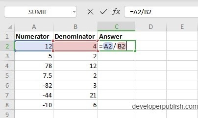 How does the QUOTIENT Function work in Excel?