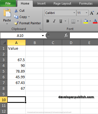 How to use GEOMEAN Function in Excel?